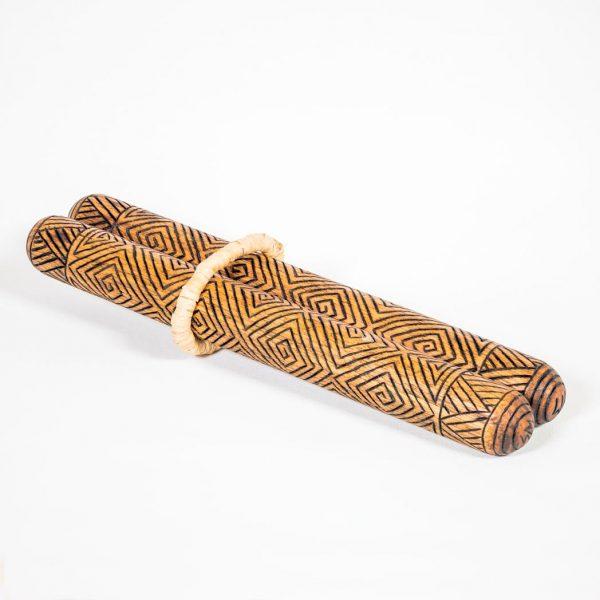 Hardwood Clapsticks